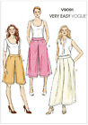 Very EASY Vogue 9091 Culottes Pants Wide Leg Trousers Sewing Pattern V9091