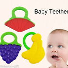1PC Baby Teether Infant Training Chewable Silicon Toddler Toy Bendable Yummy