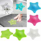 Starfish Hair Catcher Rubber Bath Sink Strainer Shower Drain Cover Trap Basin