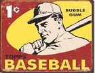 Topps 1959 Baseball Cards Bubble Gum Pack - Metal / Tin Sign #1404