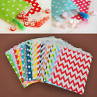 25pcs Treat Biscuit Cake Cookie Bags Wedding Party Candy Favour Paper Food