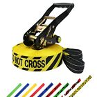SLACKLINE 15m 5cm Tight Rope SLACK LINE Tightrope ideal f. beginners children 2t