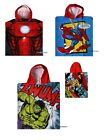 IRONMAN Marvel Avengers TOWEL bath/beach/swim/pool hooded boy/girl 4-8 yrs