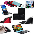 Universal Slim Bluetooth Keyboard Magnetic Folding Case For All 7-8 inch Tablet