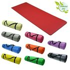 Yoga Mat PHTHALAT FREE Fitness Workout Camping Pilates Gym diff. Sizes/Colours