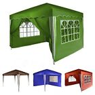 Gazebo PARADISE foldable garden pavilion 3m x 3m with no, 2 or 4 side panels