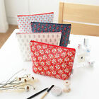 Zipper Cosmetic Case Makeup Bag Travel Organizer - ICONIC - Pattern Pouch  L