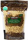 24 oz Kirkland Signature organic Raw PINE NUTS,~Pesto,Pasta,Salad