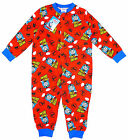 Boys Thomas the Tank Engine No1 All in One Popper Sleepsuit RED 1 to 5 Years