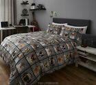 Dogs & Cats Photo Print Duvet Set. 2 sizes. Next Day Delivery