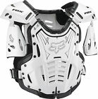 Fox Racing Adult & Youth White/Black Airframe Dirt Bike Roost Chest Guard MX 16