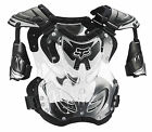 Fox Racing Adult & Youth Black/Clear R3 Dirt Bike Roost Chest Guard MX ATV 2016