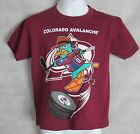 NHL Colorado Avalanche New Boys T-Shirt Phineas and Ferb Perry Platypus 4 5/6 7 $7.99 USD on eBay