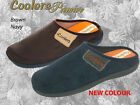 Coolers Premier Mens Slippers Open Back / Mule Stlye Slippers  FREE POST