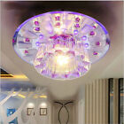 NEW 18cm 9W Crystal LED Ceiling lights Colorful Aisle lights chandeliers 1890U