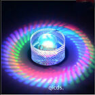 NEW 10cm 3W LED Crystal Ceiling lights chandeliers Colorful Aisle lights 6537U