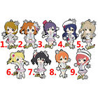 Love Live Rubber Keychain Strap Phone Charm 1 pcs Winter Snowflake Limited Ver