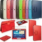 Folding PU Leather Stand Smart Case Cover For Samsung Galaxy Tab 3 10.1 + Film