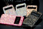 NEW Bling Austria Diamond Crystal Leather View Case For Samsung Galaxy Note 5