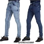 Mens skinny stretch jeans, Peviani denim super slim fit g bar denim rock star