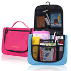 New Women Travel Toiletry Wash Cosmetic Bag Makeup Case Hanging Grooming