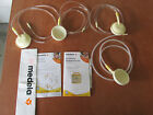 Medela Symphony Breastpump Tubes Set of 4 Extras Accessories Parts Pre-Owned GUC