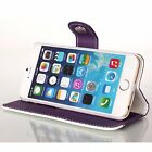 "Hot PU Leather Wallet Card Holder Flip Case Cover for iPhone5s 6 4.7"" 6Plus 5.5"""