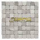 """Marble Mosaic Tile, """"Rabat Collection"""" MM 1102 - Patio, 1-1/4""""X1-1/4"""", Tumbled"""