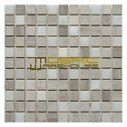 """Marble Mosaic Tile, """"Soul Collection"""" MM 1201 - Surge, 1""""X1"""", Polished"""