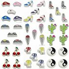 """New arrival 10PCS 7MM """"mix style"""" Floating charms Zinc Alloy Fit Floating locket"""