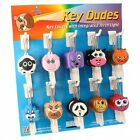 Funky Dudes Key Covers with Integrated Torch Light