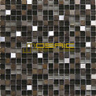 "Glass, Stone, and Metal  Mosaic Tile, ""Litho Collection""  GM 3201 - Square"