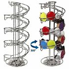 40 Coffee Capsule Pods Revolving Rotating Tower Rack Stand Holder Dolce Gusto