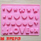 QQ Chocolate Cake Cookie Muffin Silicone Bakeware Jelly Baking Mould Mold Hot