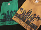 CATALINA ISLAND T SHIRT 100% COTTON SURF TEAM NEW WITHOUT TAGS BASIC TEE SQUARE