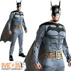 Arkham City Batman Mens Superhero Fancy Dress Halloween Adults Costume Outfit