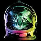 Space Cat   Neon Black Light   Tshirt    Sizes/Colors