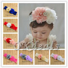 New Kids Baby Girl Toddler Flower Headband Hair Band Headwear Hair Accessories