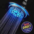 DreamSpa® All-Chrome Temperature Controlled Color-Changing LED Shower Head