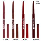W7 LIP TWISTER LIP LINER RETRACTABLE 4 GREAT SHADES TO CHOOSE FROM NEW SEALED