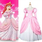 New Costume-made Adult Princess Beauty and Beast Belle Dress Lolita Cosplay Ball