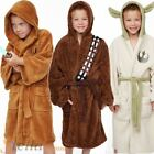 Kids Official Star Wars Jedi Yoda Plush Fleece Bathrobe Boys Girls Dressing Gown