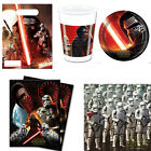 Star War VII Party Supplies party Bags Napkins Cups Plates Kit For 8-16