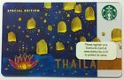 Starbucks Thailand Loy Loi Kratong Festival Gift Card 2015 Limited Edition