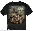 New Mens Graphic Tee Duck Dynasty A&E Four Hunters T-shirt Adult Size