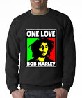 One Love Bob Marley Unisex Men Women Crewneck Sweatshirt S-5XL Fast Shipping