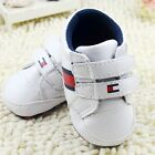 Toddler Baby Boy White Crib Shoes Casual Sneakers Size 0-6 6