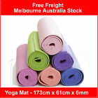 Yoga ExerciseThick 6mm Gym Mat Non Slip PVC Multi Color 173x61x0.6 CM