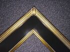 "3"" Gold black Classic Picture Frame Wedding Gallery PLEIN AIR frames4art M2Gb"