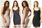 FRENCH CONNECTION FCUK RRP £150 BELLA BEADED BODYCON COCKTAIL PENCIL DRESS